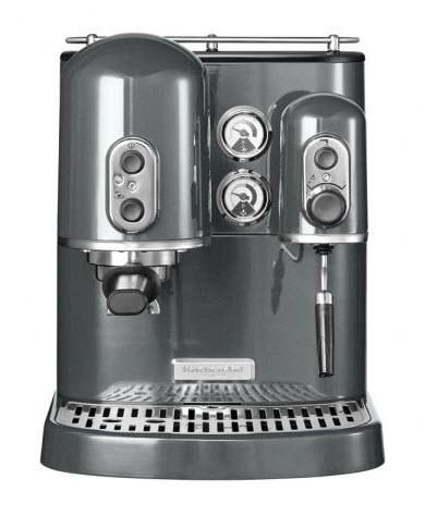 KitchenAid espresso kávovar Artisan 5KES2102EMS stříbřitě šedá