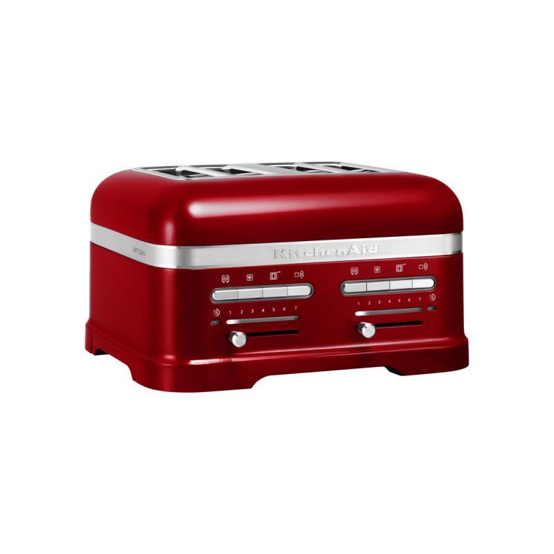 Kitchenaid toustovač Artisan KMT4205 červená metalíza