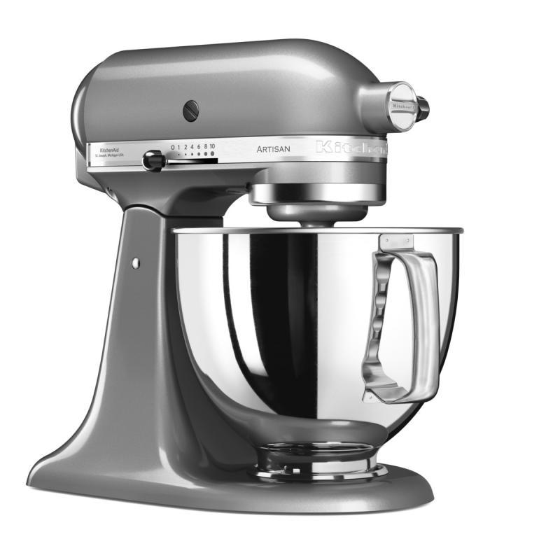 KitchenAid robot Artisan 5KSM125 stříbrná