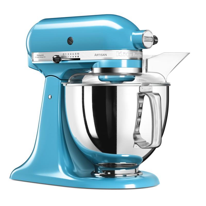 KitchenAid Artisan kuchyňský robot 5KSM175PSECL křišťálově modrá + Akční set KitchenAid balíček s příslušenstvím FPPC