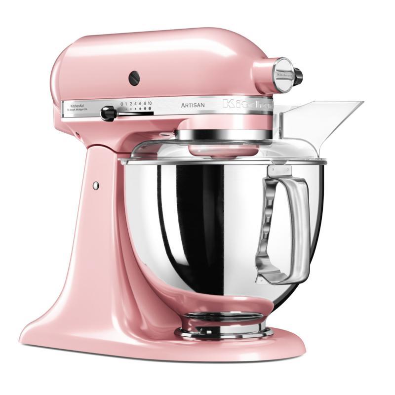 KitchenAid Artisan kuchyňský robot 5KSM175PSESP růžový satén + Akční set KitchenAid balíček s příslušenstvím FPPC