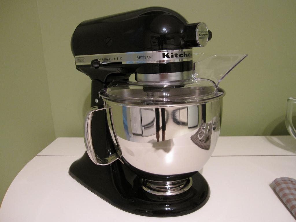 test 4,8l robotu kitchenaid artisan